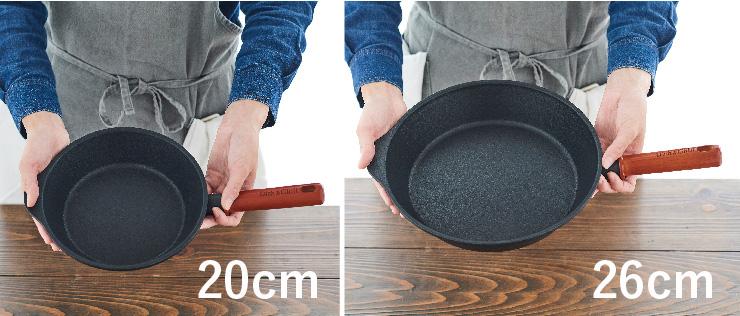 サイズは2種類