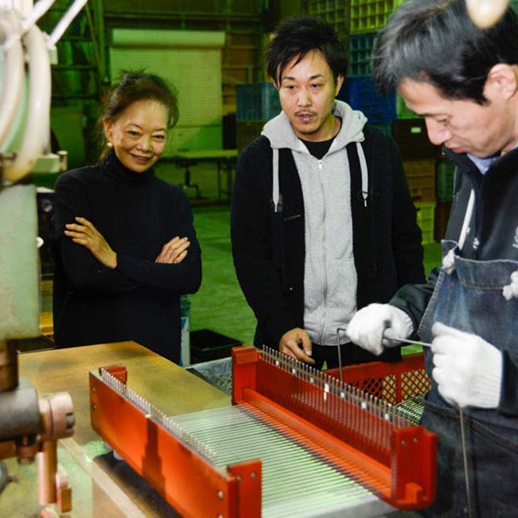 手作業と、メイドインジャパン